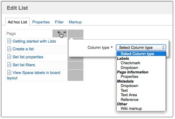 List Column Types Canvas For Confluence Server Latest Comalatech