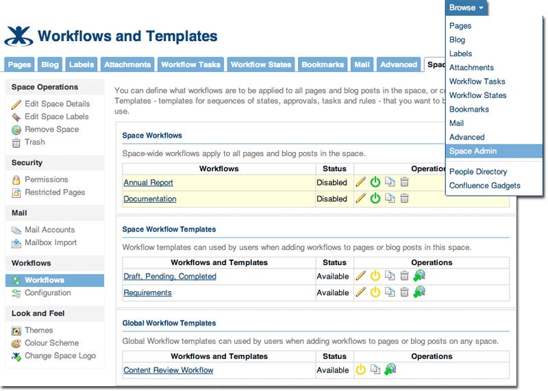 Manage workflows - Ad hoc Workflows 3.0 - Global Site